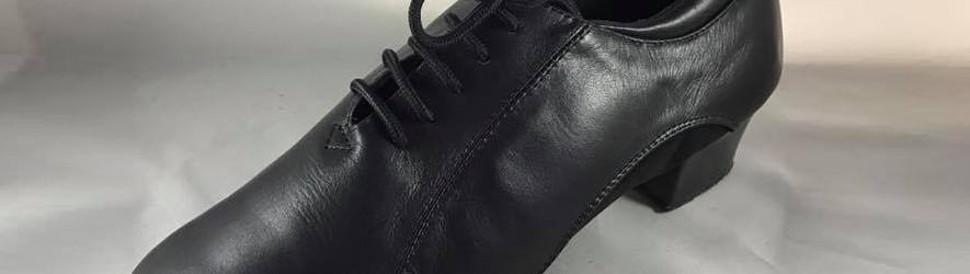 Dance shoes for ballroom dancing men. Technical dance shoes.